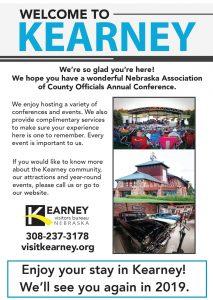 2018 Kearney Visitors Bureau Ad